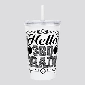 3rd Grade Teacher Acrylic Double-wall Tumbler